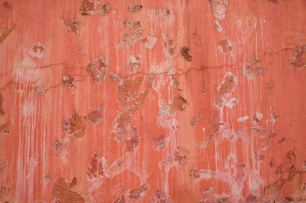 背景の古いセメント壁のカラフルなパターンとテクスチャ