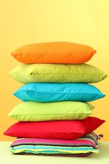 다채로운 베개