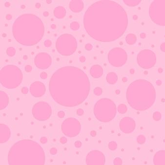 カラフルな水玉模様の背景