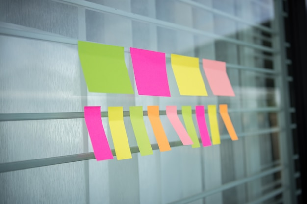 Colorful of post it