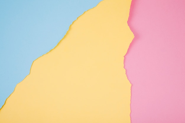 Colorful ragged paper background