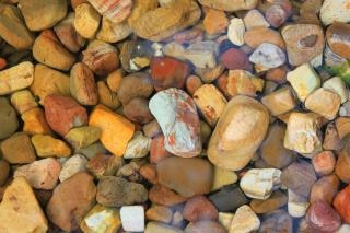 Colorful rocks  texture