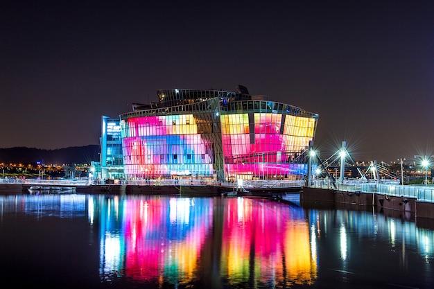 Colorful of seoul floating island