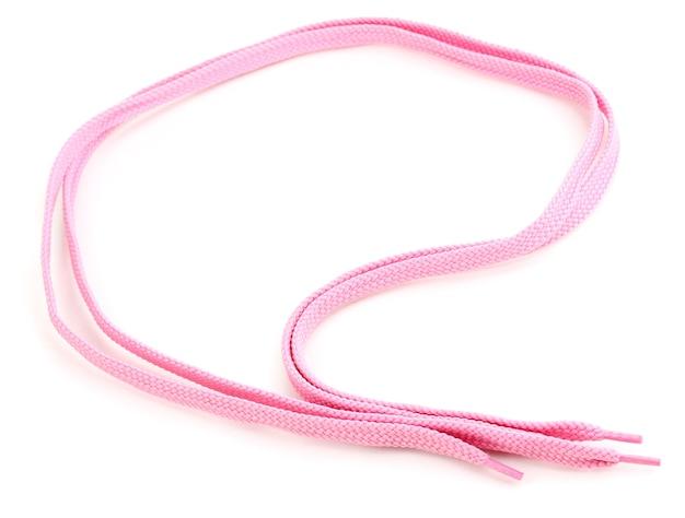 Изолированные красочные шнурки