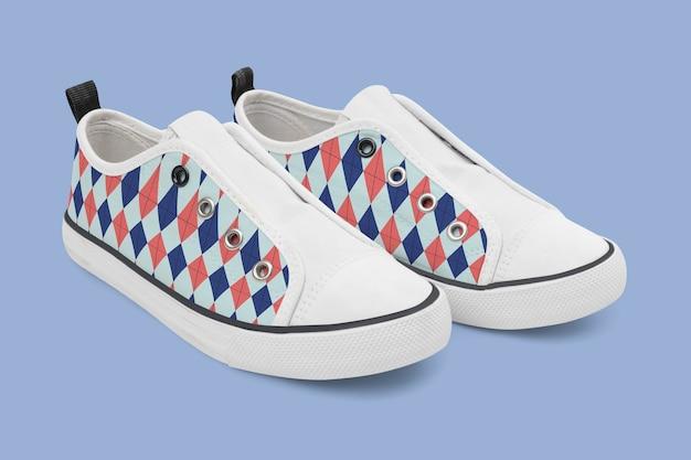 Яркие уличные кроссовки унисекс без застежки - мода