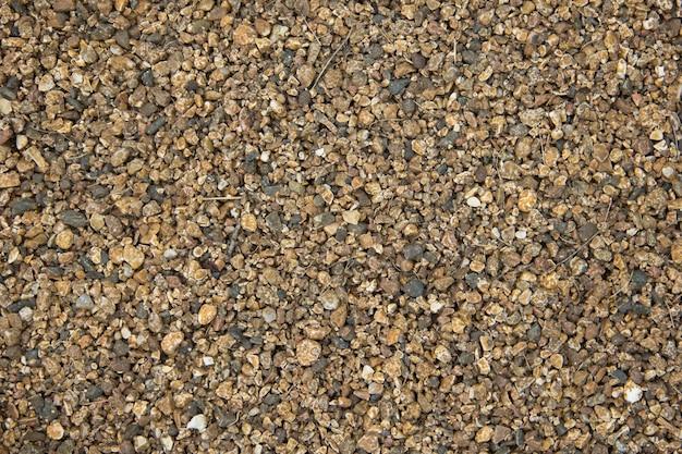 다채로운 작은 돌 바다 자갈 배경 원활한 질감의 작은 돌