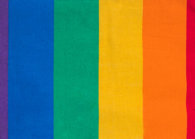 Colorful symbol of lgbt community