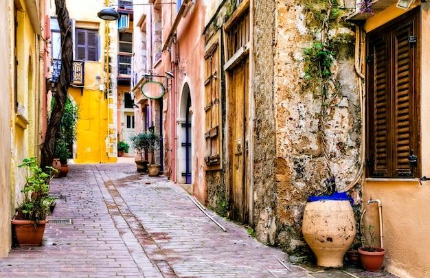 Красочная традиционная серия греции