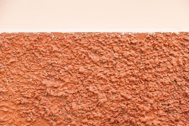 Colorful two tone orange squash wall for background.