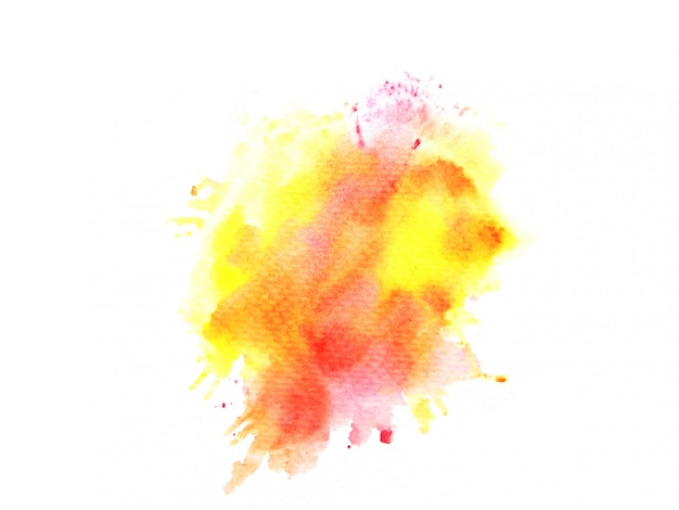 Красочный акварельный фон. художественная ручная краска