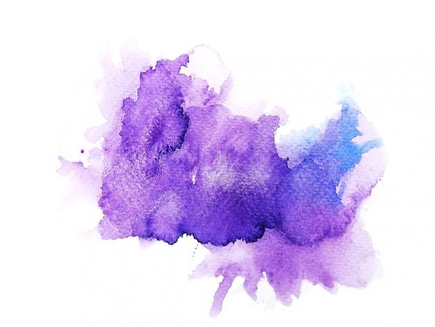 Красочный акварельный фон. искусство ручная краска Premium Фотографии