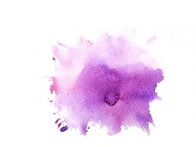 Красочный акварельный фон. искусство ручная краска