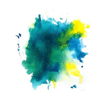 다채로운 수채화 배경 미술 손 페인트
