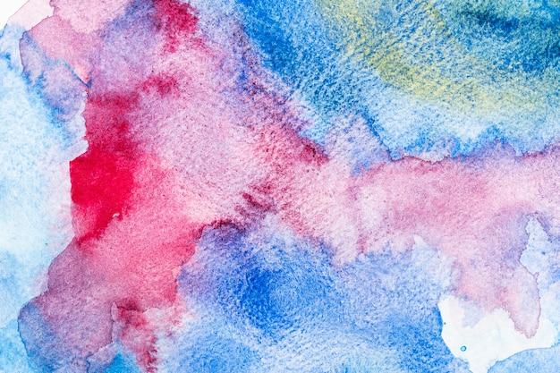 다채로운 수채화 복사 공간 패턴 배경