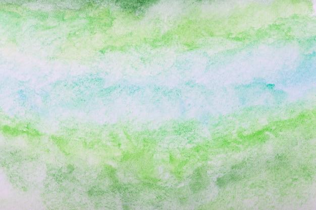 カラフルな水彩画の表面