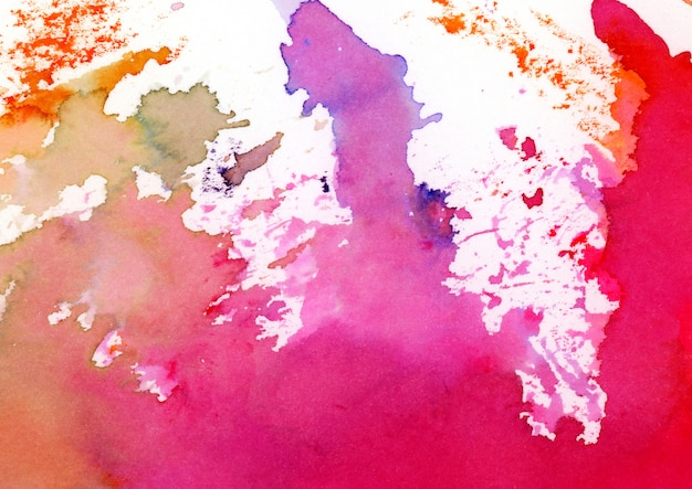 Colorful watercolor texture