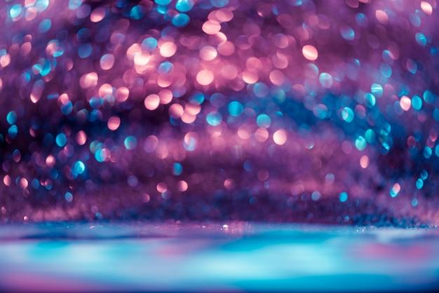 Боке блеск colorfull размытый абстрактный фон для годовщины, канун нового года или рождества