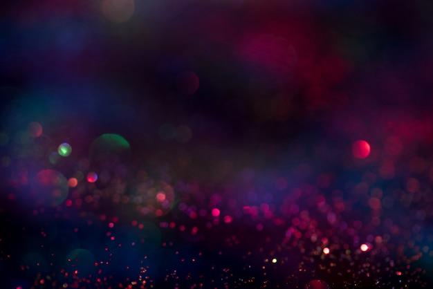 Блеск боке световой эффект colorfull размытый абстрактный фон