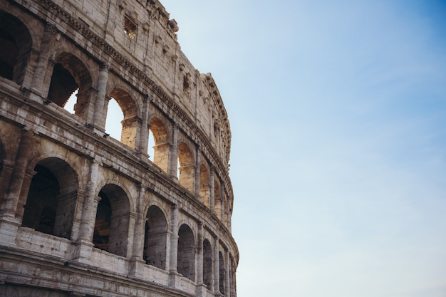 Colosseum in rome. italy