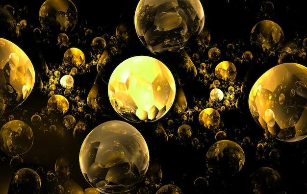 Цвет абстрактного искусства шары, фон (обои) фон.