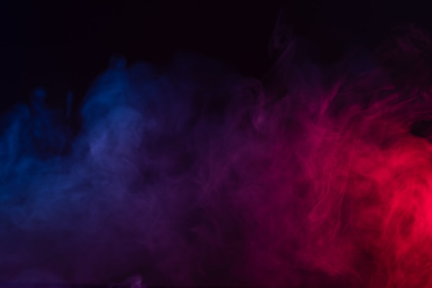 Colour smoke background