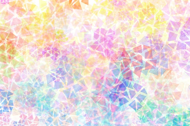 Colourful abstract background with mixed chaotic different shapes