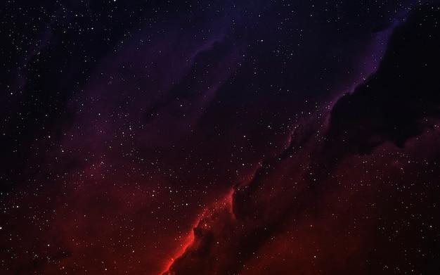 Красочная туманность с миллиардами звезд и планет. элементы этого изображения, предоставленные наса