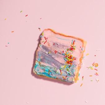 Colourful toast