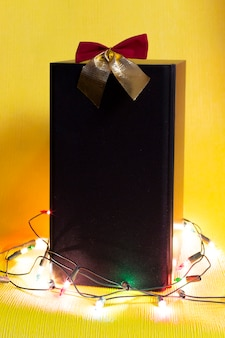 Column musical gift for the holiday