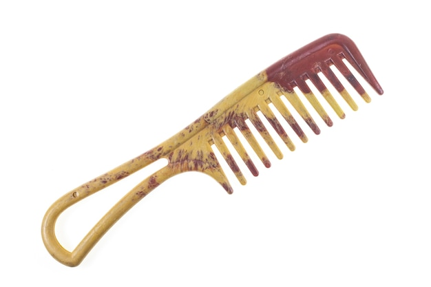 Comb on white background.