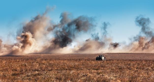 ウクライナ軍の戦闘訓練