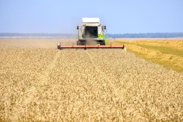 밀을 깎는다.