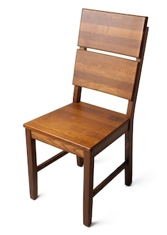 흰색 배경에 고립 된 편안한 의자