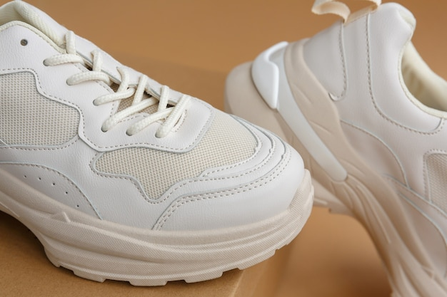 Comfortable shoes for active sports, training and walking