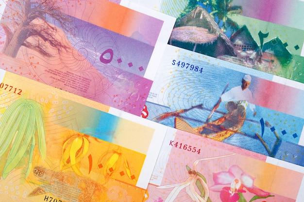 Comorian franc bills