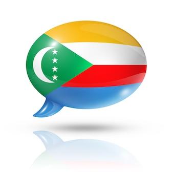 Коморские острова флаг речи пузырь