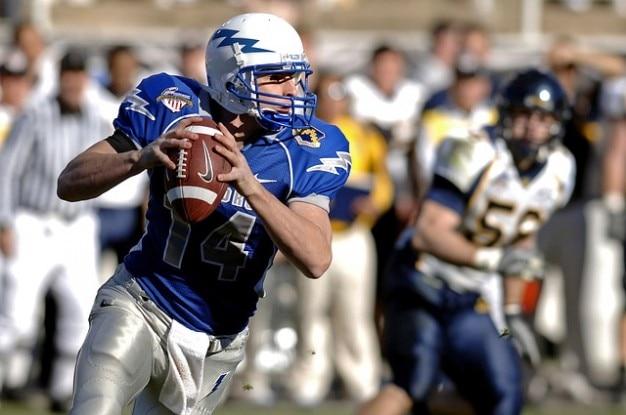 Competition quarterback sport  american football