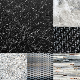 Compilation of textures and background images
