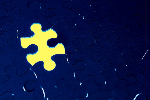 Completion of the absence of the concept of a puzzle