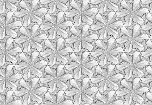 복잡한 체적 원활한 패턴 3d 그림