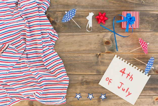 Composition by 4th of july