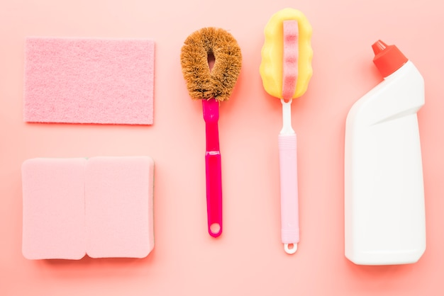 Composition of cleaning objects