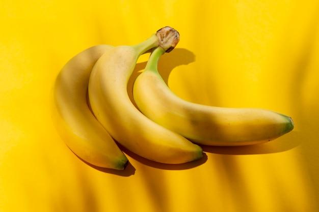 Composition of delicious exotic bananas