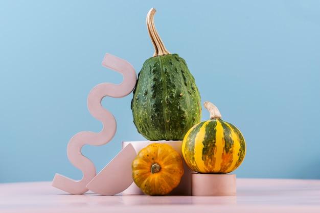 Composizione di deliziose verdure fresche