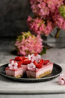 Composizione di deliziose golosità dolci