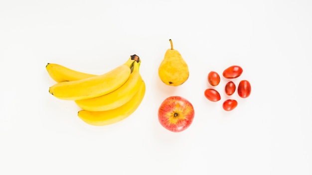 Composition of fruits
