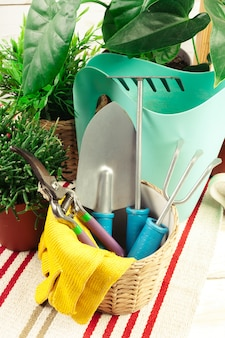 Composition of garden tools