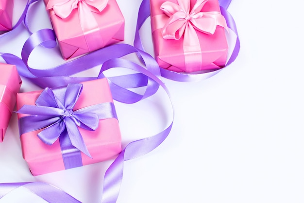 Composition of gift boxes