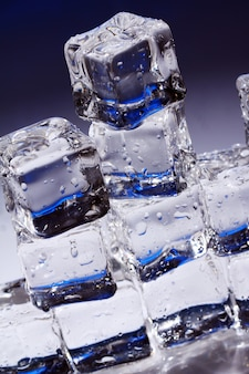 Composizione di cubetti di ghiaccio