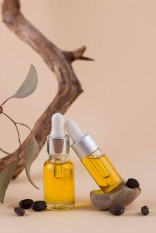Composizione del contagocce di olio di jojoba